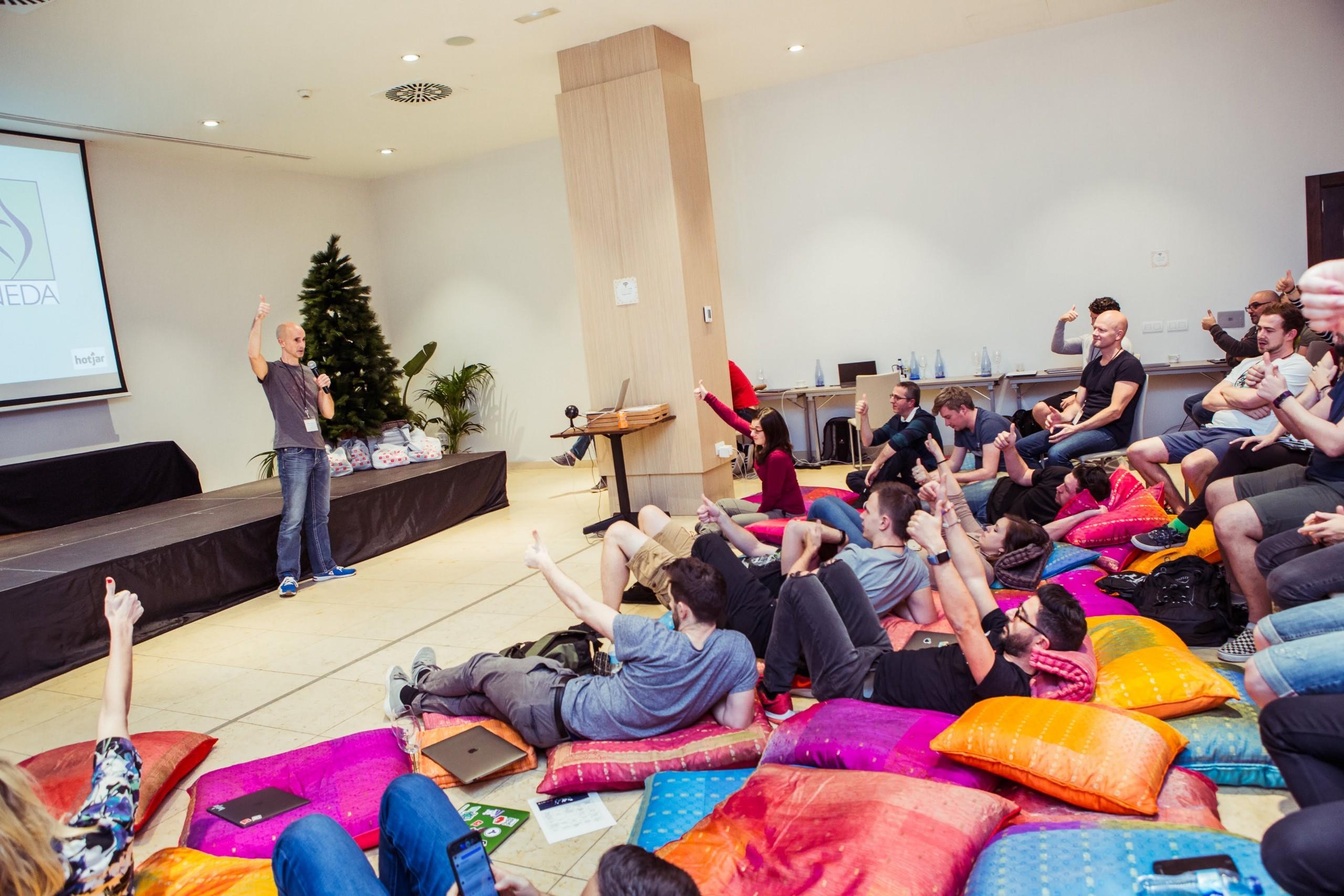 Hotjars' Meetup Tenerife by Wolfhouse